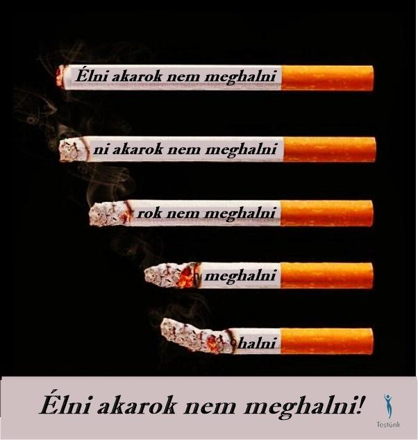 ha a dohányzás gyógyít