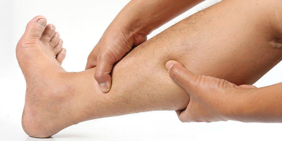 tömörítés az alsó lábszáron visszérrel