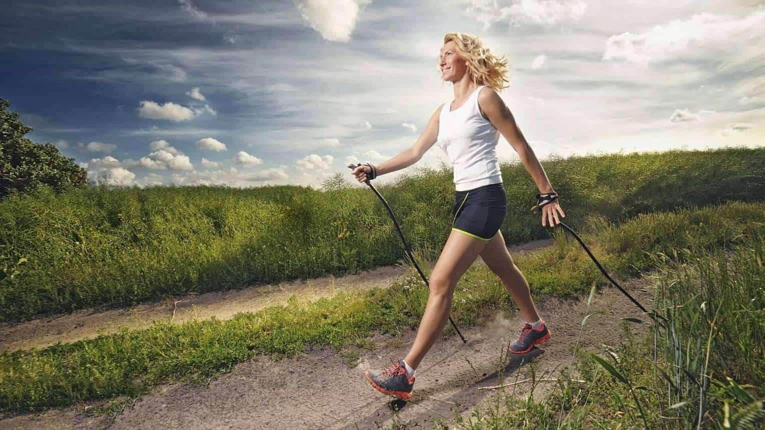 Nordic walking botokkal és visszérrel hűsítő gél visszér ellen